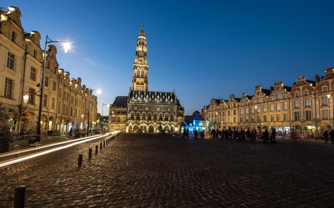 Arras France : Les Grandes Mosquées Voisines ANNOUR et EL FETH