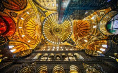 La basilique Sainte-Sophie, les Turcs et les Romains